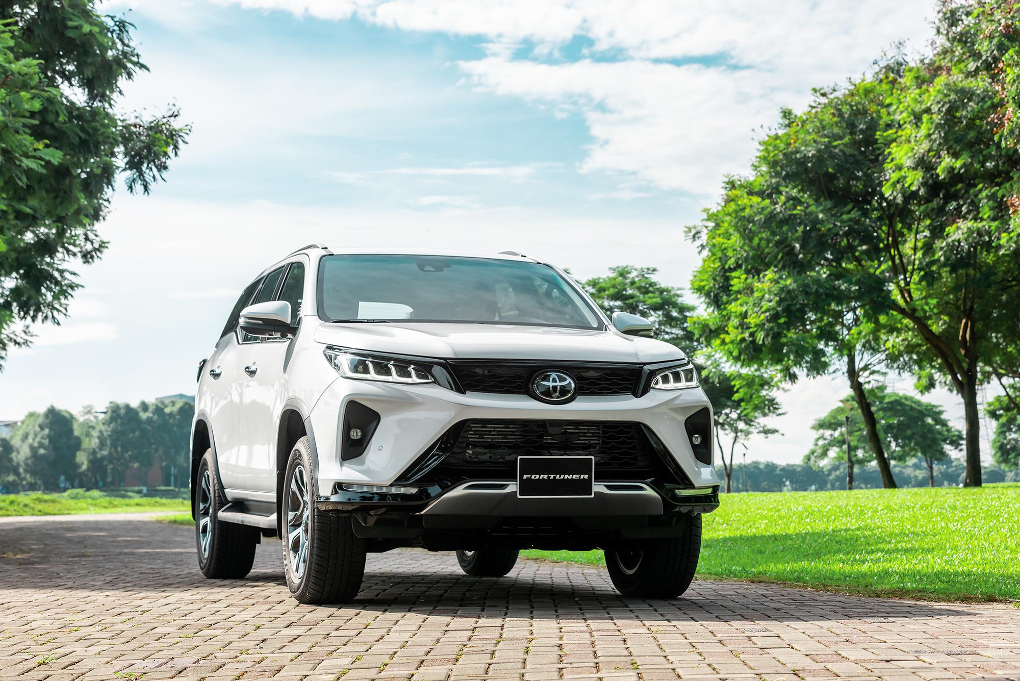 Toyota Fortuner 2021 có đến 7 phiên bản. Ảnh: Toyota Việt Nam.