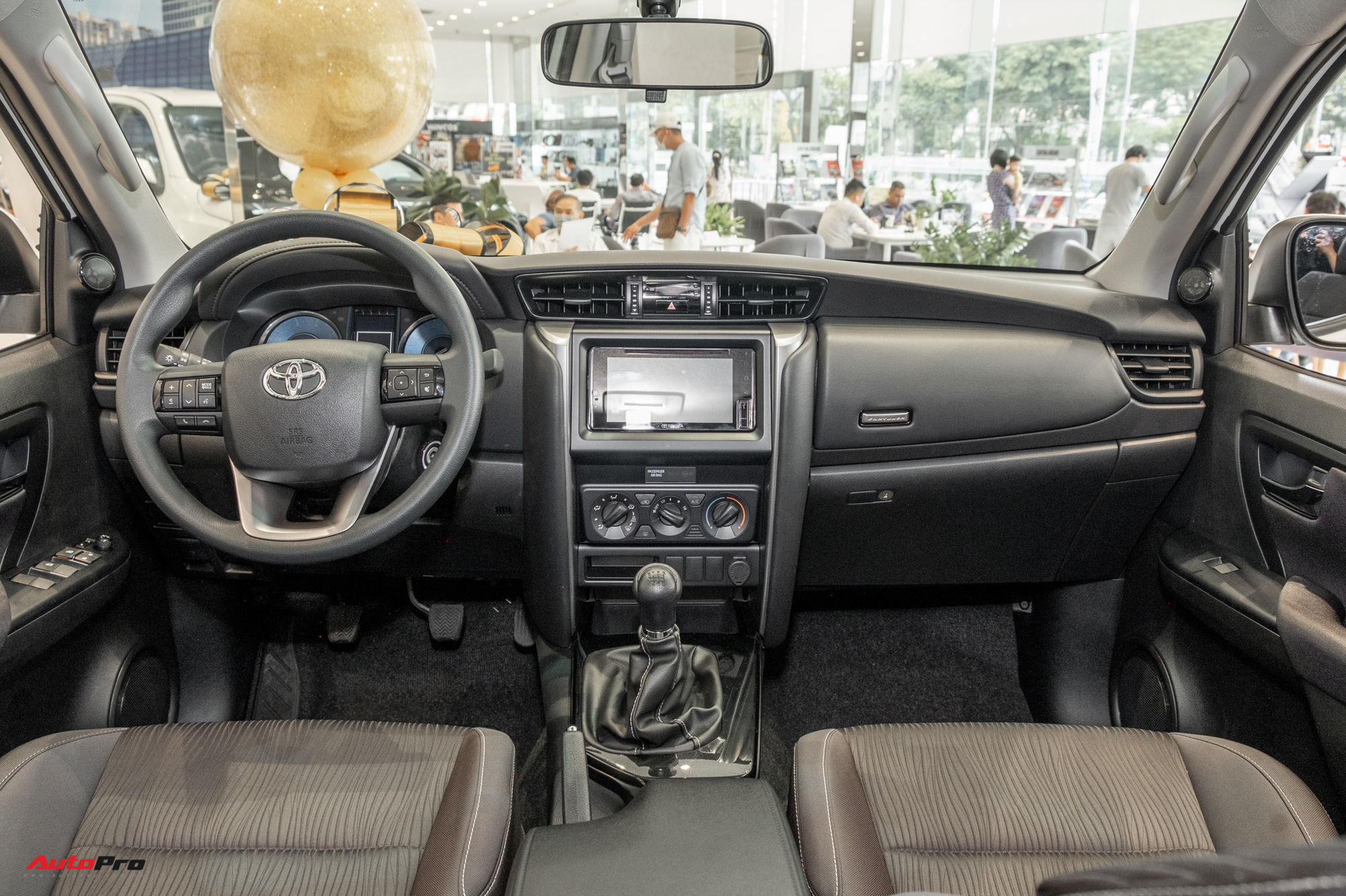 Toyota Fortuner phiên bản 2.4 4x2 MT.