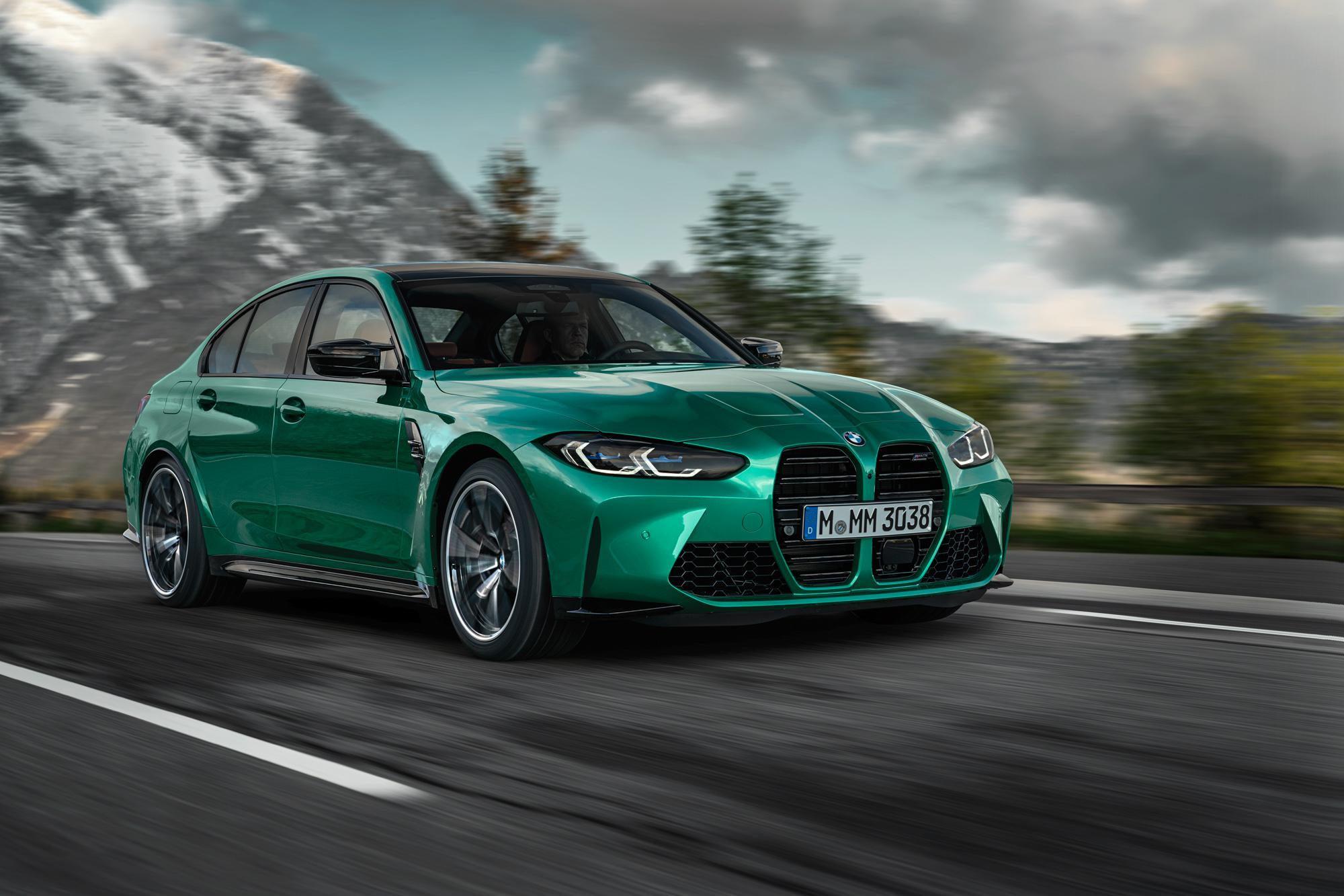 Xem trước BMW M3, M4 với bộ ảnh ngoại thất full trước giờ ra mắt