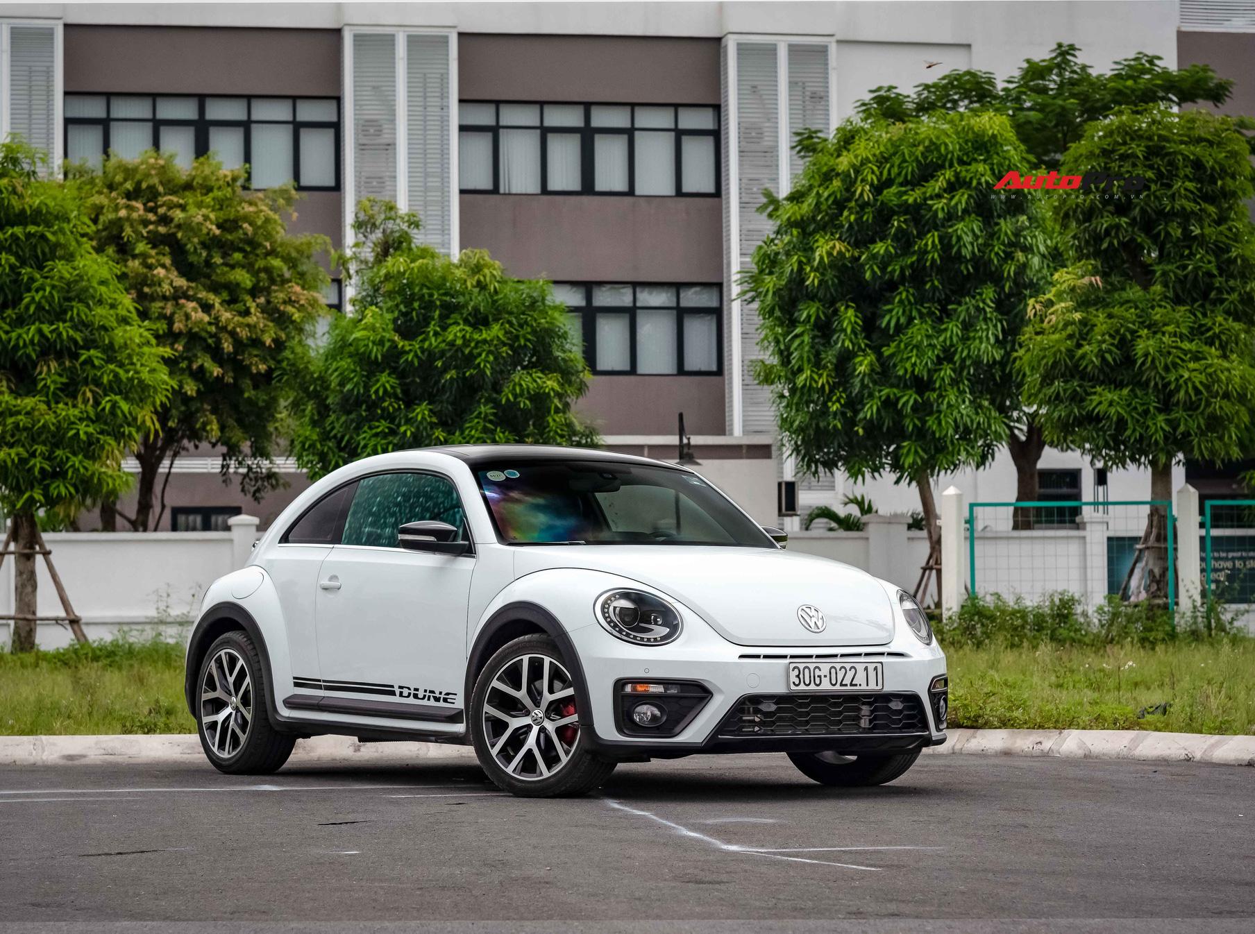 Hậu khai tử, hàng hiếm Volkswagen Beetle Dune 2019 có giá đắt ngang VinFast Lux A2.0 'đập hộp'