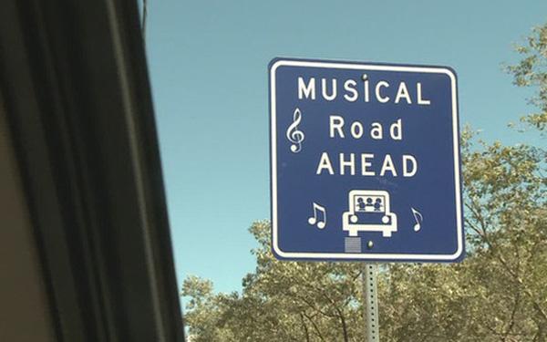 Lạ lùng con đường biết hát thu hút triệu views trên TikTok  - Ảnh 1.