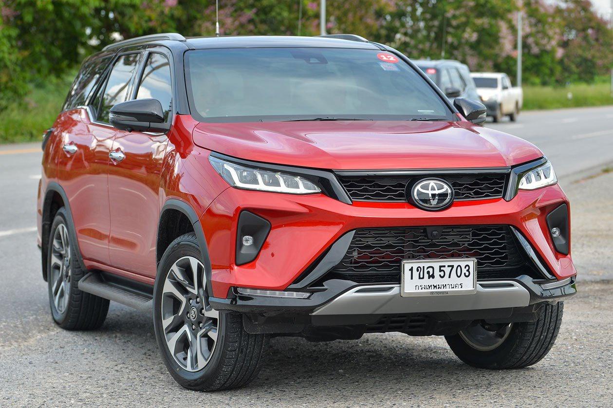 Legender sẽ thay thế cho bản TRD Sportivo trên Toyota Fortuner 2021.