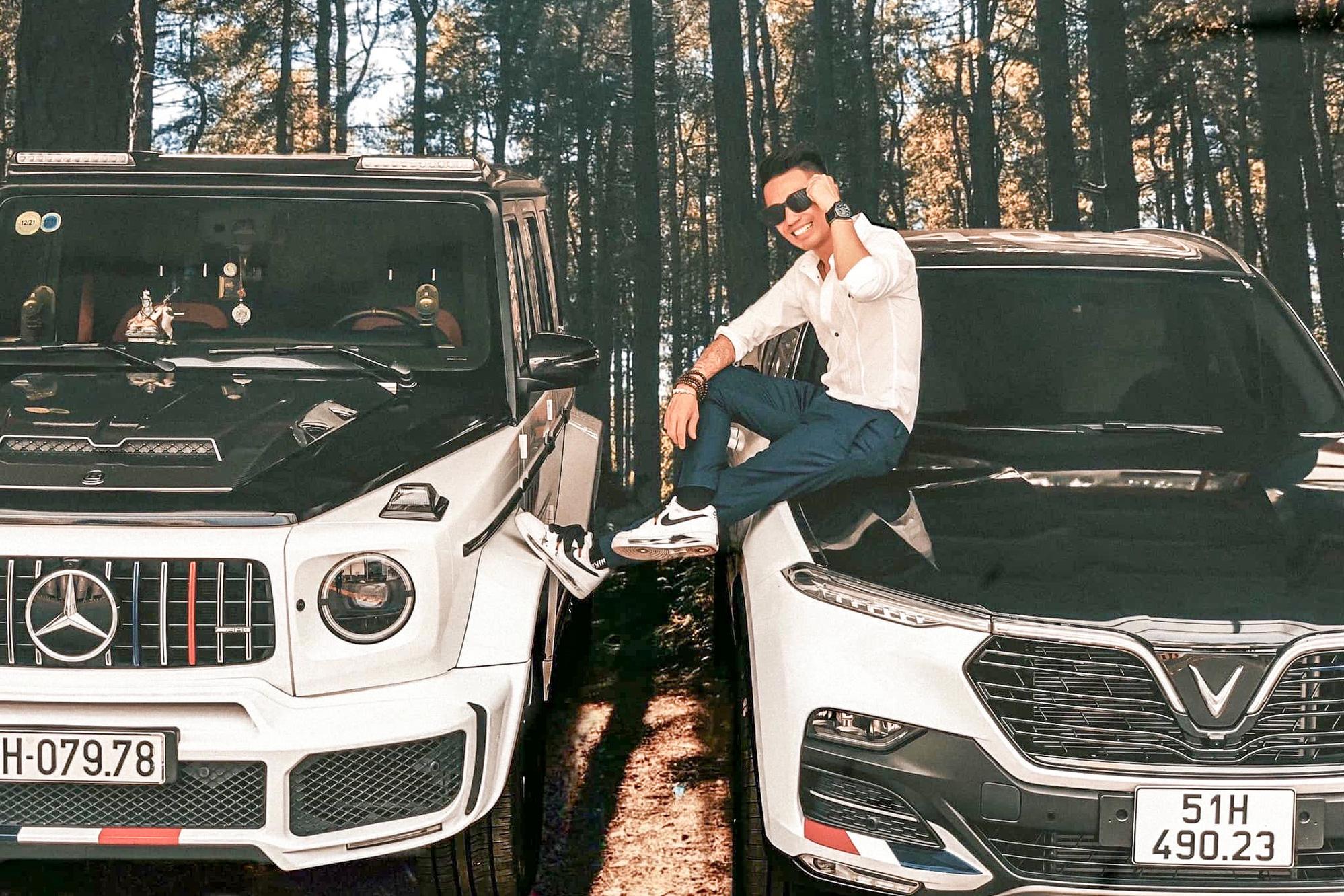 Minh 'Nhựa' khoe VinFast Lux SA mới tậu ngầu như Mercedes-AMG G 63, CĐM thắc mắc: 'Sao anh không mua President?'