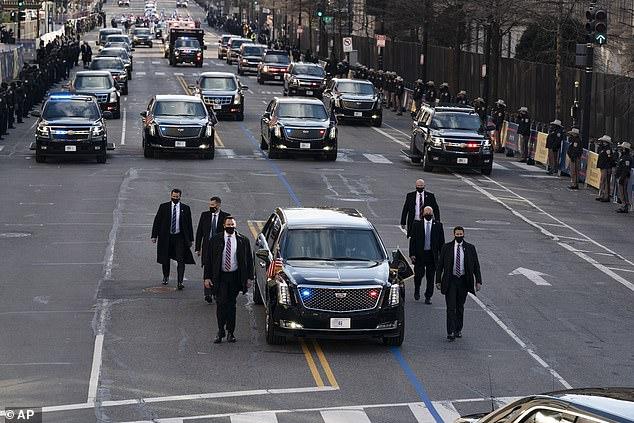 Joe Biden thay đổi chi tiết đầu tiên trên quái thú Cadillac - Ảnh 5.
