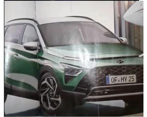 SUV đô thị Hyundai Bayon lộ ảnh không che trước ngày ra mắt: Trông như tiểu Tucson, đấu Kia Sonet sắp về Việt Nam - Ảnh 1.