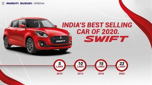 Mẫu xe Suzuki này bất ngờ là cái tên số 1 làng xe Ấn Độ 2020 - Ảnh 1.