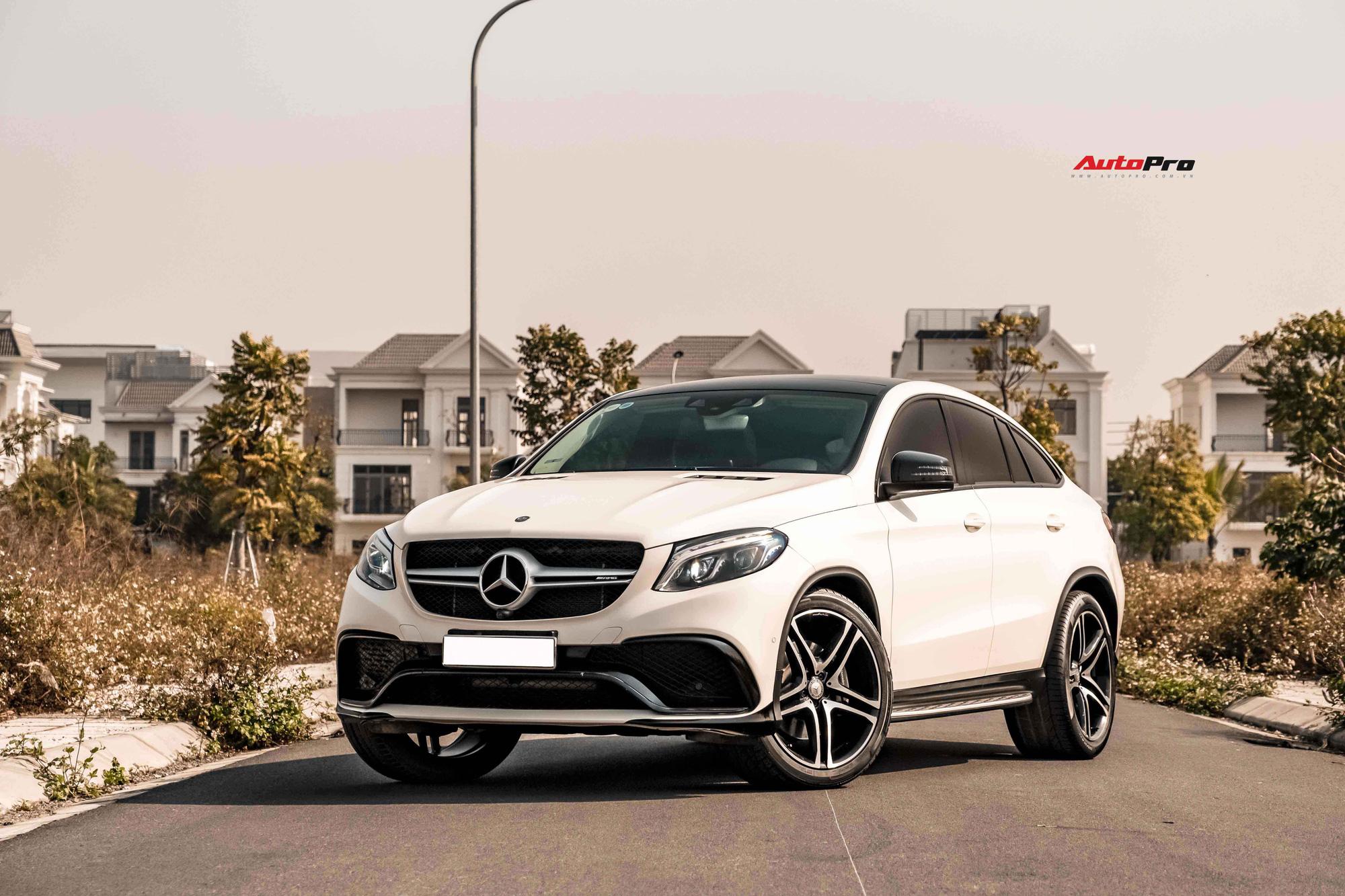 'Hàng hiếm' Mercedes-Benz GLE 450 Coupe chào bán 3,2 tỷ: Tiền độ kiểu GLE 63 đủ mua Hyundai Grand i10