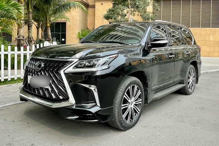Lexus LX 600 ra mắt, đại gia bán luôn Lexus LX 570 MBS và chịu lỗ 2 tỷ dù mới chạy 5.600km