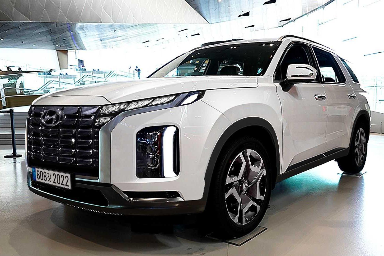 Phác họa thiết kế Hyundai Palisade 2022 sắp ra mắt: Đẹp hơn, xứng tầm đối thủ Kia Telluride và Ford Explorer