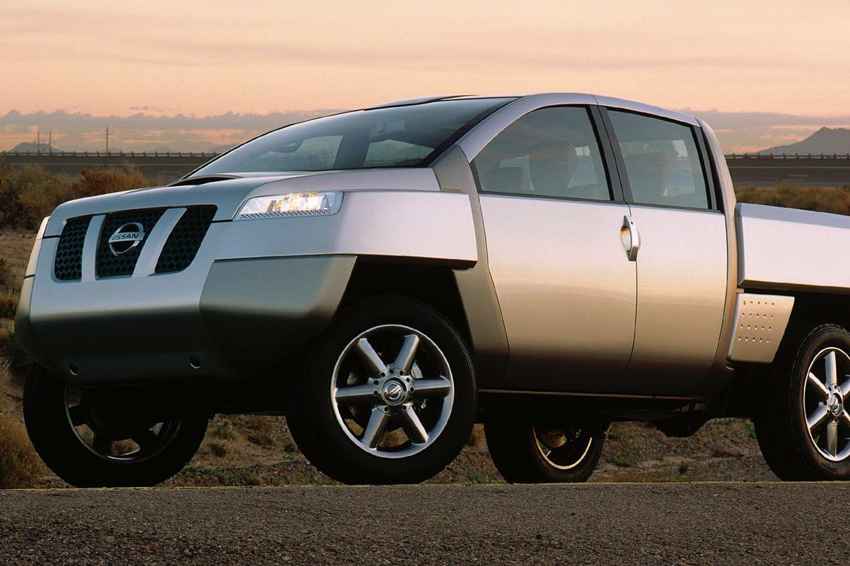 Nissan Alpha-T Concept - Đã từng có một Cybertruck của người Nhật