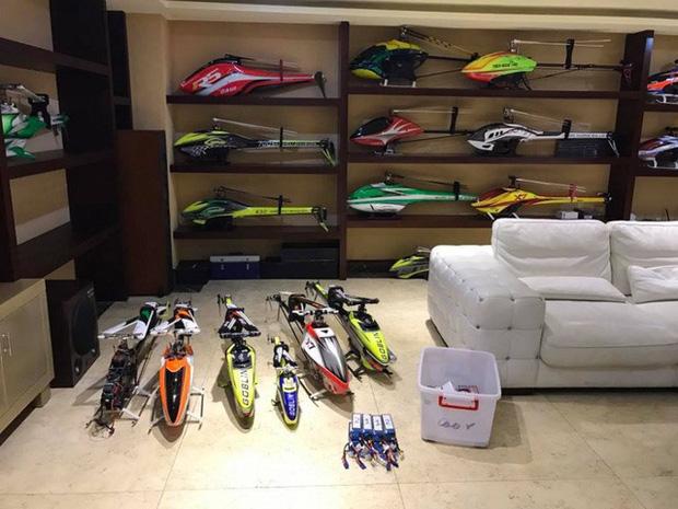 Nhà siêu giàu của Cường Đô La: Gara xịn xò chứa toàn siêu xe, bộ sưu tập trực thăng gây choáng - Ảnh 17.