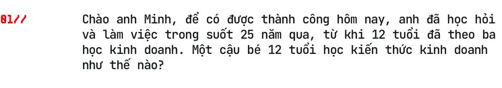 Doanh nhân Phạm Trần Nhật Minh: Tôi từng nhận lương 3 triệu/tháng, nhưng xe 10 tỷ đối với tôi giờ quá dễ dàng - Ảnh 3.