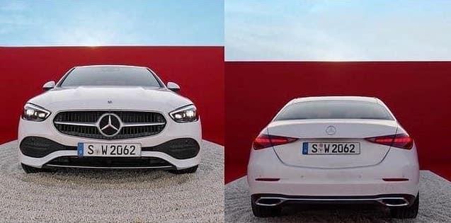Mercedes-Benz C-Class 2021 lộ ảnh thực tế trước ngày ra mắt: Như bản sao thể thao của S-Class - Ảnh 1.