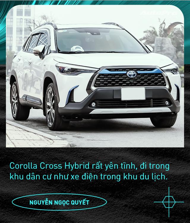Người dùng đánh giá Toyota Corolla Cross Hybrid: 'Thành fan Toy sau khi được dùng công nghệ xe sang giá mềm' - Ảnh 9.