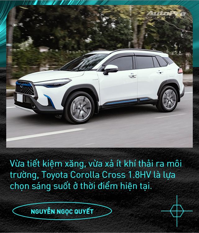 Người dùng đánh giá Toyota Corolla Cross Hybrid: 'Thành fan Toy sau khi được dùng công nghệ xe sang giá mềm' - Ảnh 10.