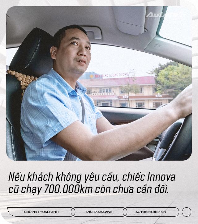 Dùng 3 đời Toyota Innova làm dịch vụ, 'bào' đến 700.000 km, người dùng đánh giá: 'Chạy lâu, xa, chở nhiều người mới thấy giá trị' - Ảnh 7.