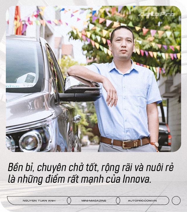 Dùng 3 đời Toyota Innova làm dịch vụ, 'bào' đến 700.000 km, người dùng đánh giá: 'Chạy lâu, xa, chở nhiều người mới thấy giá trị' - Ảnh 8.