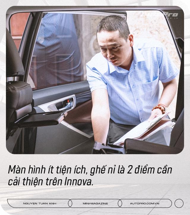 Dùng 3 đời Toyota Innova làm dịch vụ, 'bào' đến 700.000 km, người dùng đánh giá: 'Chạy lâu, xa, chở nhiều người mới thấy giá trị' - Ảnh 14.