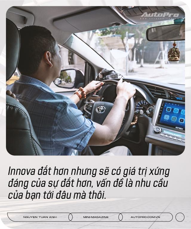 Dùng 3 đời Toyota Innova làm dịch vụ, 'bào' đến 700.000 km, người dùng đánh giá: 'Chạy lâu, xa, chở nhiều người mới thấy giá trị' - Ảnh 16.