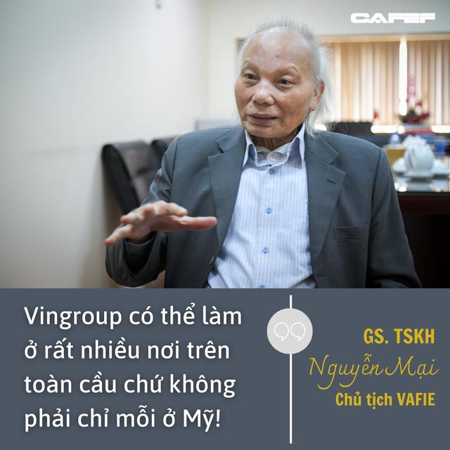 GS Nguyễn Mại chỉ ra cái lý của VinFast khi mở nhà máy xe điện ở Mỹ và chuyện hợp tác với Foxconn - Ảnh 4.
