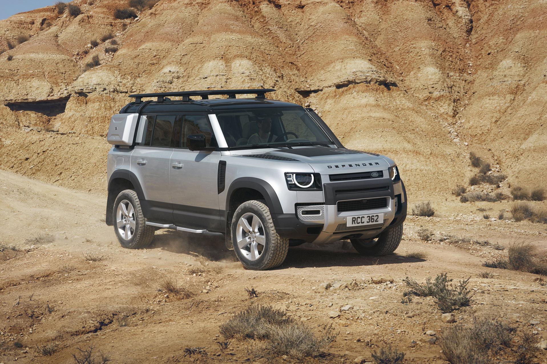 Cuộc khô máu của Land Rover: Làm Defender kéo dài, 8 chỗ full-size lớn nhất từ trước tới nay