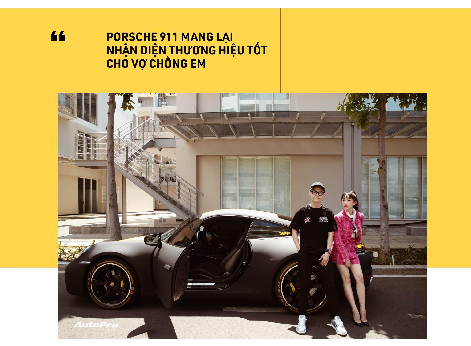 Con gái Minh Nhựa: 'Một đứa 21 tuổi như em sao tự mua chiếc xe đắt như Porsche 911 được' - Ảnh 10.