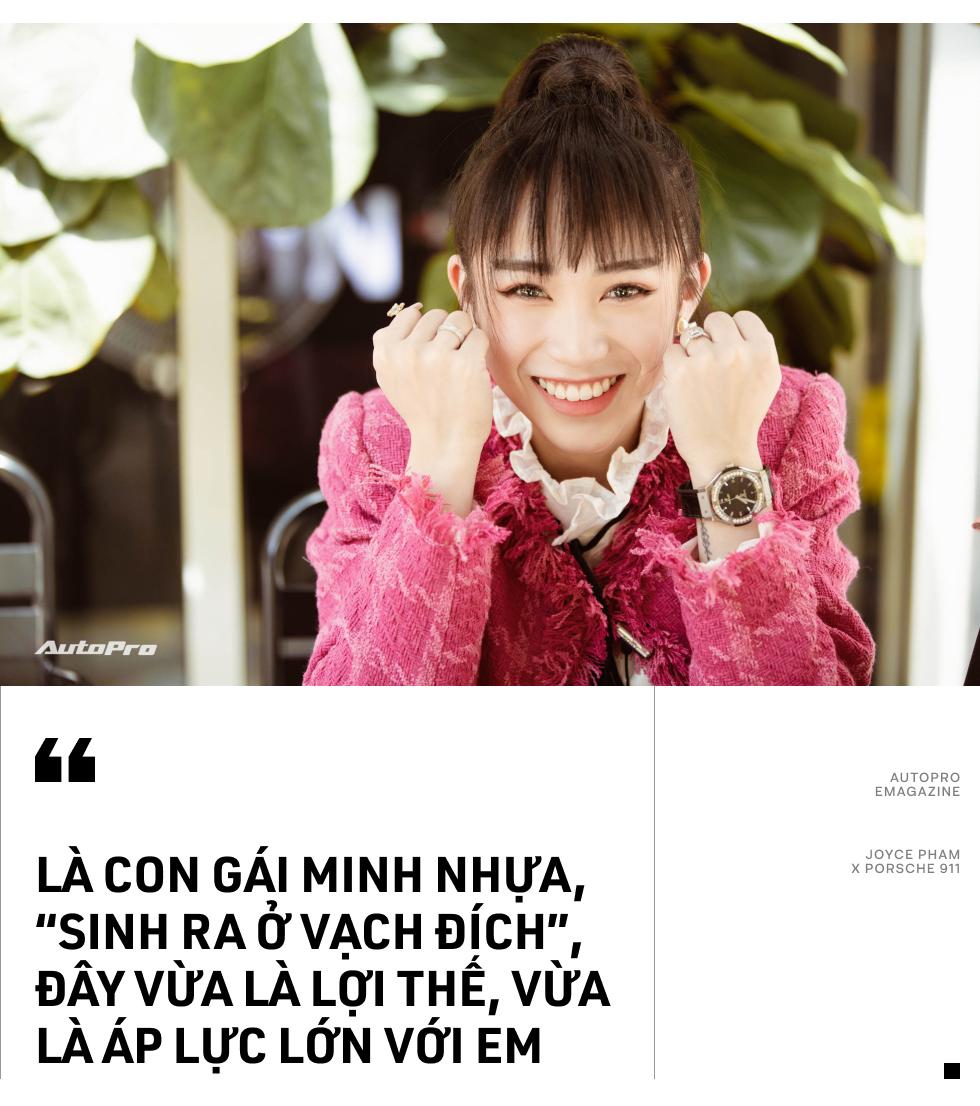 Con gái Minh Nhựa: 'Một đứa 21 tuổi như em sao tự mua chiếc xe đắt như Porsche 911 được' - Ảnh 20.
