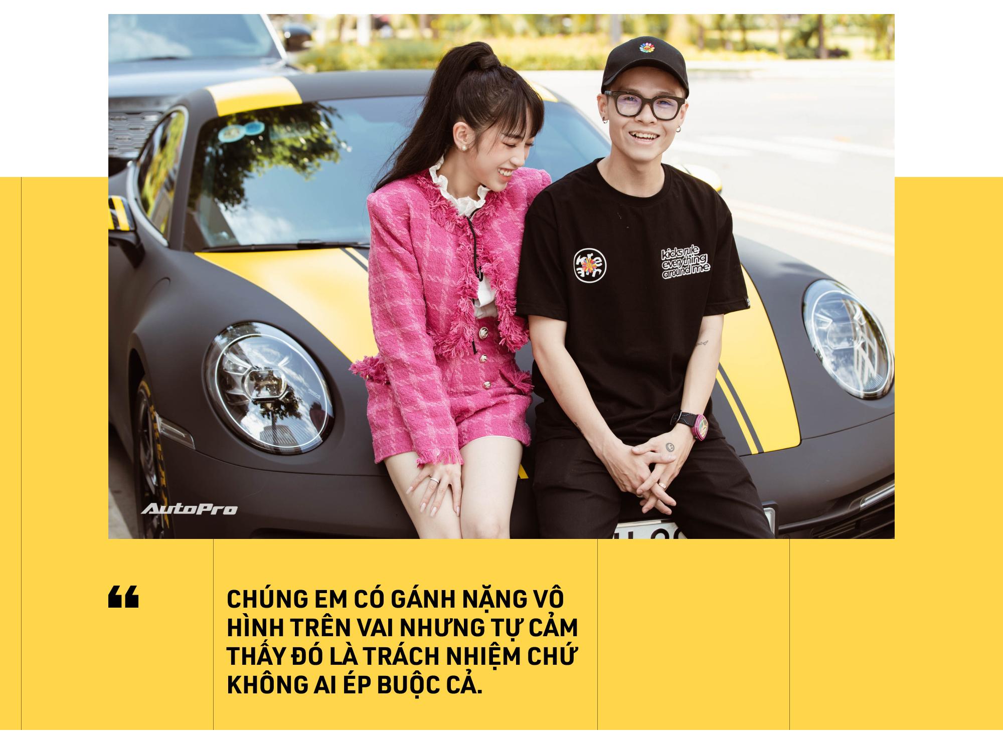 Con gái Minh Nhựa: 'Một đứa 21 tuổi như em sao tự mua chiếc xe đắt như Porsche 911 được' - Ảnh 25.