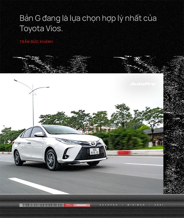 Không phải fan Toyota nhưng chốt 2 chiếc Vios trong 2 tháng dù ưng City, 9X đánh giá: 'Chê thì chê nhưng mua vẫn mua' - Ảnh 8.
