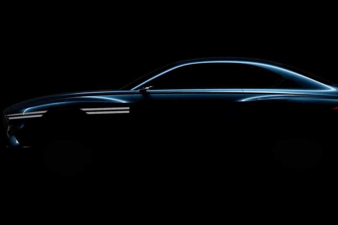Genesis nhá hàng xe mới tham dự triển lãm Thượng Hải 2021