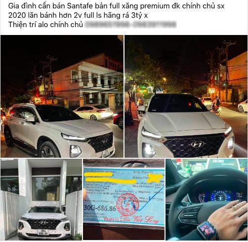 Chạy 20.000km, chủ nhân Hyundai Santa Fe biển 686.86 vẫn tự tin bán xe giá hơn 3 tỷ đồng - Ảnh 1.