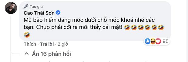 Khoe ảnh chạy siêu xe giữa drama, Cao Thái Sơn bị nhắc nhở vì chi tiết vi phạm luật giao thông, phải vội vàng giải thích - Ảnh 3.
