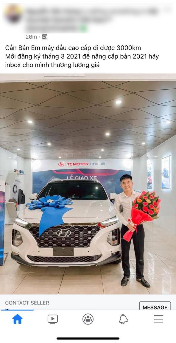 Mê Hyundai Santa Fe mới, con trai bà Tân Vlog bán luôn xe vừa mua 2 tháng để lên đời dù mới chạy 3.000km - Ảnh 1.