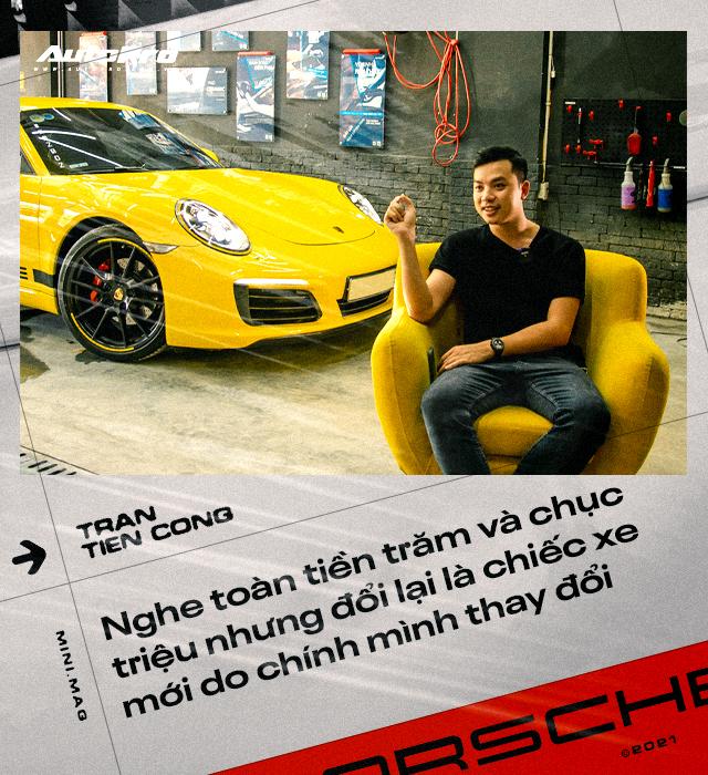 8x Hà Nội tự tay nâng cấp Porsche 911: Bỏ gần 5 tỷ lấy xác xe, chi 2,5 tỷ lên đời xe mới, tốn 'học phí' cả trăm triệu đồng - Ảnh 8.