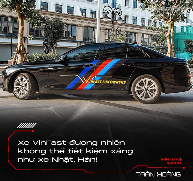 9x sở hữu 11 xe VinFast Lux kinh doanh dịch vụ vận tải: 'Ngốn nhiên liệu nhưng bảo dưỡng rẻ, làm 5 năm hoàn vốn' - Ảnh 7.