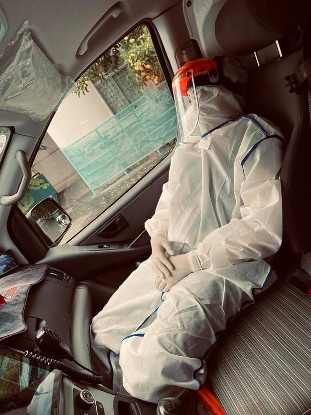 Danh tính nữ tài xế duy nhất tình nguyện lái xe cứu thương giữa mùa dịch ở Sài Gòn - Ảnh 3.