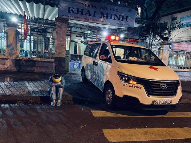 Danh tính nữ tài xế duy nhất tình nguyện lái xe cứu thương giữa mùa dịch ở Sài Gòn - Ảnh 5.