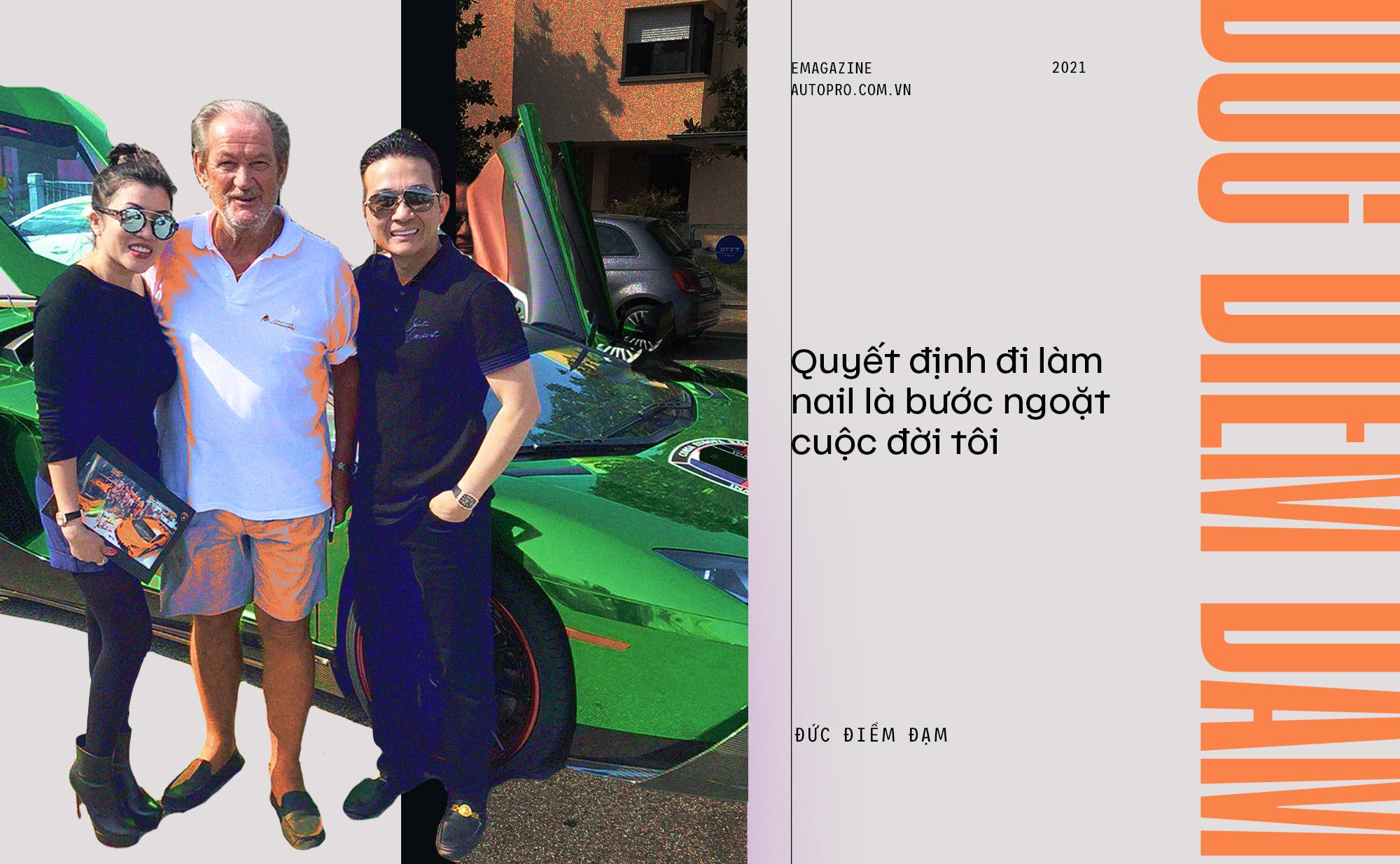 Đức Điềm Đạm: Từ lau dọn 3 USD/giờ tới sở hữu dàn xe 1,5 triệu USD, hé lộ hành trình siêu xe ở Việt Nam - Ảnh 12.