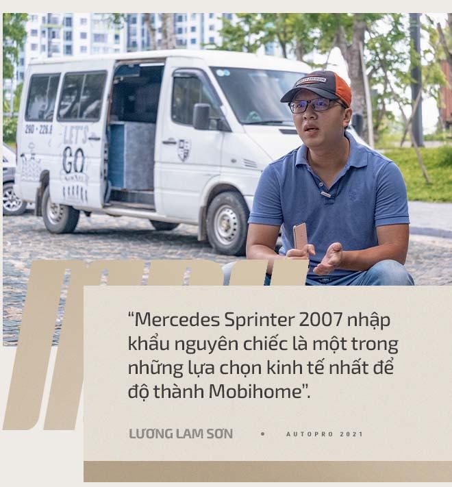 Giấu vợ mua 'Mẹc' cũ về độ Mobihome, doanh nhân 8x Hà Nội chia sẻ: Không cần phải giàu để 'chơi' vì đây là khoản đầu tư có lãi - Ảnh 6.
