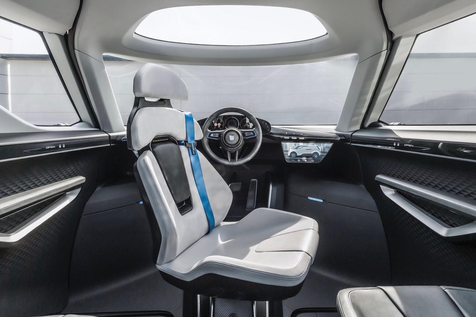 Xe mới của Porsche khoe nội thất rộng như Kia Carnival, ghế xoay như phòng khách di động