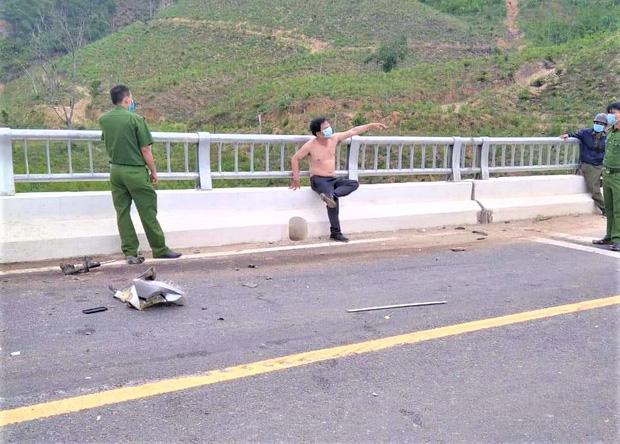 Từ Đà Nẵng vào Quảng Nam cướp ô tô rồi tự gây tai nạn trên đường bỏ chạy - Ảnh 3.
