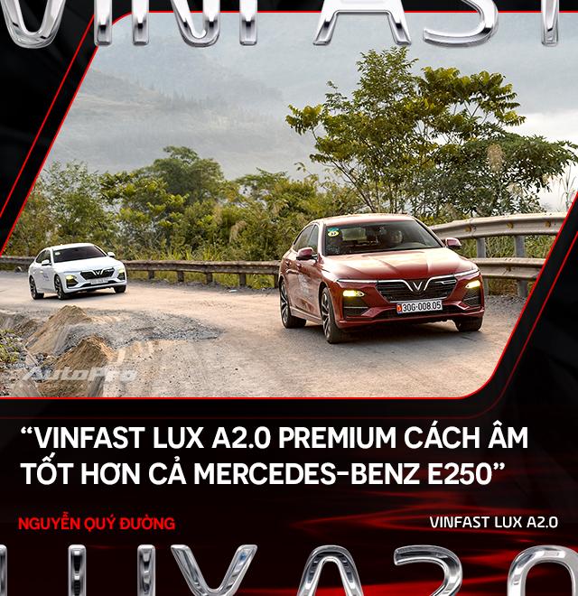 Người dùng đánh giá VinFast Lux A2.0: Nuôi xe 5 triệu/tháng nhưng lương 50 triệu mới an tâm dùng xe - Ảnh 5.