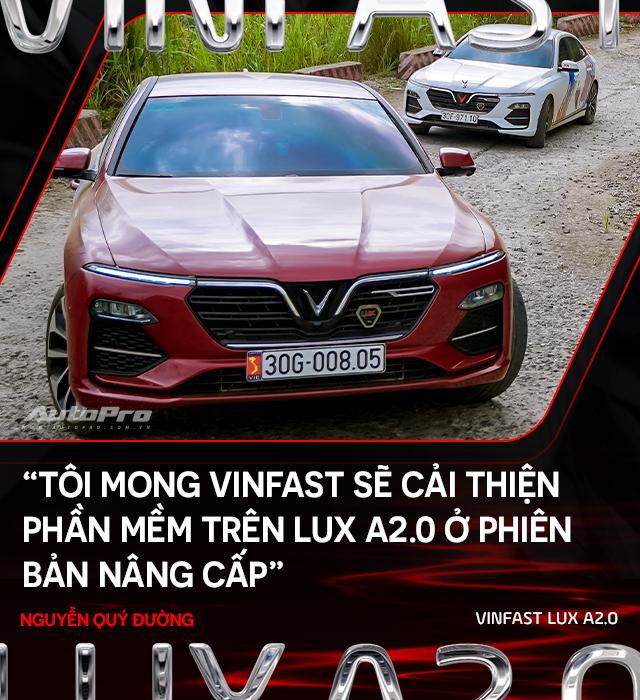 Người dùng đánh giá VinFast Lux A2.0: Nuôi xe 5 triệu/tháng nhưng lương 50 triệu mới an tâm dùng xe - Ảnh 11.