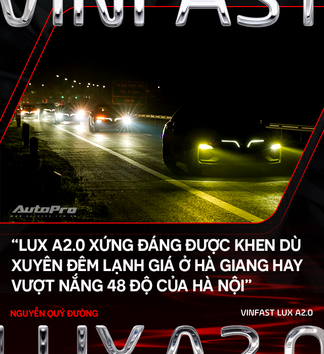 Người dùng đánh giá VinFast Lux A2.0: Nuôi xe 5 triệu/tháng nhưng lương 50 triệu mới an tâm dùng xe - Ảnh 15.