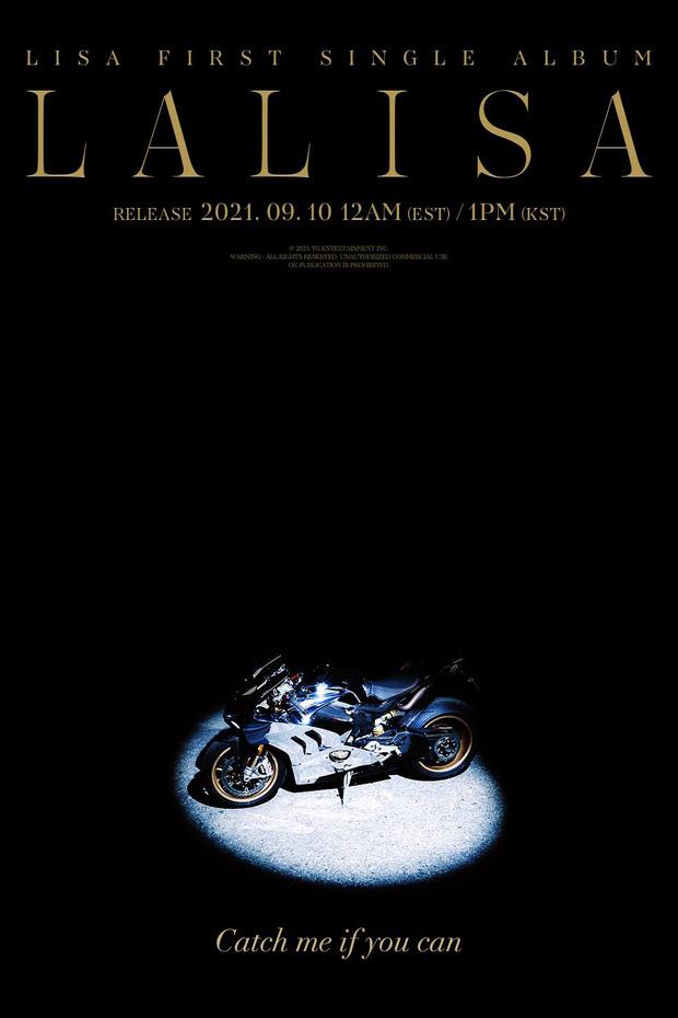 Bóc giá chiếc xe trong poster solo của Lisa (BLACKPINK), thương hiệu rất nổi tiếng và có giá bạc tỷ - Ảnh 1.