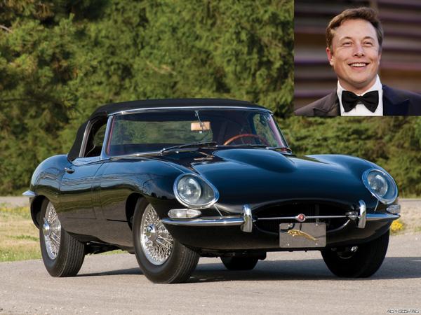 Tuy là ông chủ của hãng xe điện Tesla nhưng Elon Musk lại thừa nhận rằng ông sở hữu một chiếc Jaguar E-Type Series 1.