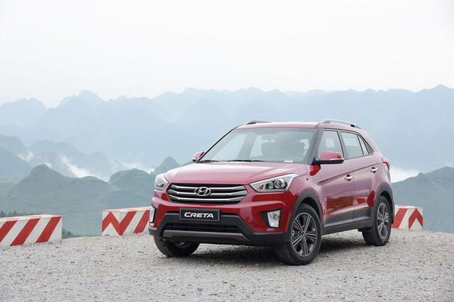 Hyundai Creta mới ra mắt Việt Nam.