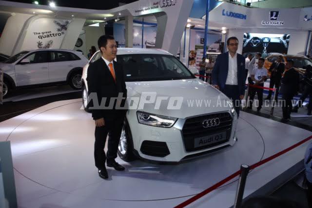 Audi Q3 ra mắt