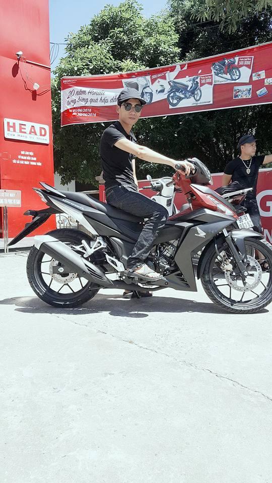 Chiếc Honda Winner 150 tại HEAD ở Hà Nam. Ảnh: Facebook
