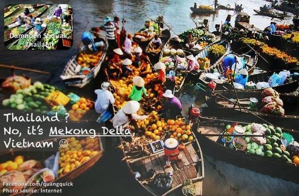 Thái Lan? Không, là sông Mekong.